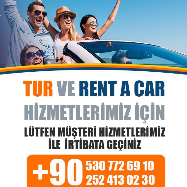 Marmaris - Rodos Feribot Bileti, Rent a Car ve Tur Hizmeti